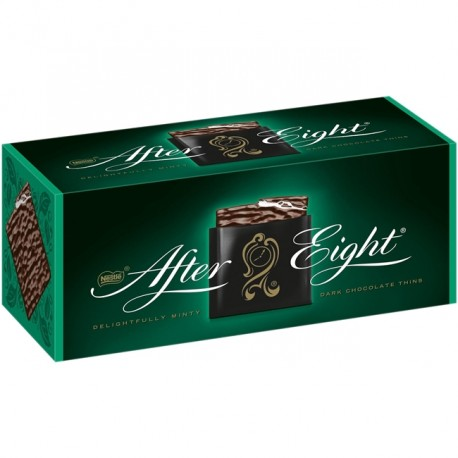 Praline de ciocolata neagra cu menta After Eight 200 grame
