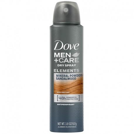 Antiperspirant Dove Men Care Mineral Powder Sandalwood 150 ml
