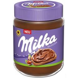 Crema de ciocolata si alune Milka 350 grame
