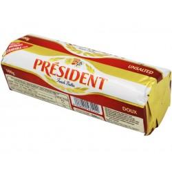 Baton unt nesarat President 82% grasime 500 grame