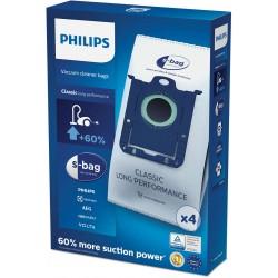 Saci aspirator S-Bag Philips Classic Long Performance 4 buc