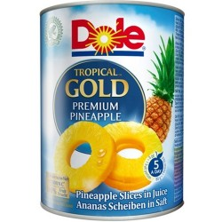 Rondele de ananas Dole Tropical Gold 3 kg