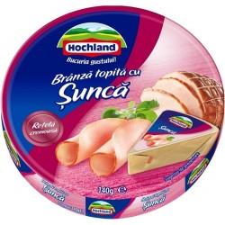 Branza topita triunghiuri cu sunca Hochland 140 grame
