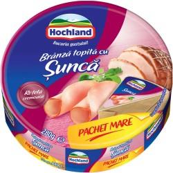 Branza topita triunghiuri cu sunca Hochland 280 grame