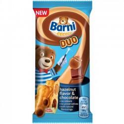 Prajitura cu crema de ciocolata si alune Barni Duo 30 grame