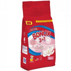 Detergent pudra manual Bonux 3 in 1 Pure Magnolia 1,8 kg