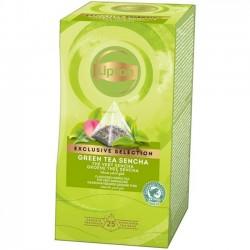Ceai Lipton Green Tea Sencha 25 plicuri