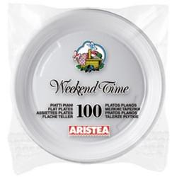 Farfurii plastic Aristea 20,3 cm 100 buc