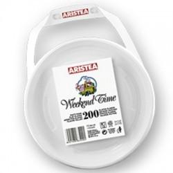 Farfurii plastic Aristea 20,3 cm 200 buc