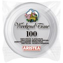 Farfurii plastic Aristea 17 cm 100 buc