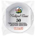 Boluri plastic Aristea 650 ml 50 buc