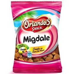 Migdale coapte si sarate Orlando's 500 grame
