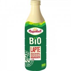 Lapte Napolact Bio 3,8% grasime 1,6 litri