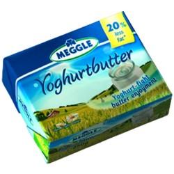 Unt cu iaurt Meggle 65% grasime 250 grame