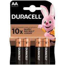 Baterii Duracell LR6 AA 4 buc