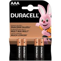 Baterii Duracell LR03 AAA 4 buc