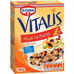 Musli cu fructe Vitalis 300 grame
