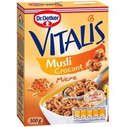 Musli crocant cu miere Vitalis 300 grame