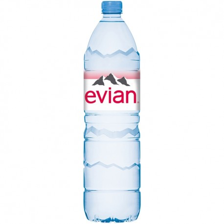 Apa plata Evian 1,5 litri