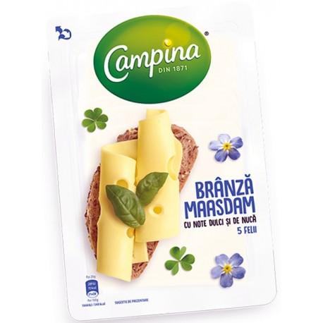 Branza feliata Maasdam Campina 100 grame