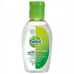 Gel antibacterian dezinfectant Dettol 50 ml