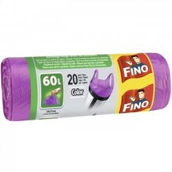 Saci menaj Fino Color 60 litri 20 buc