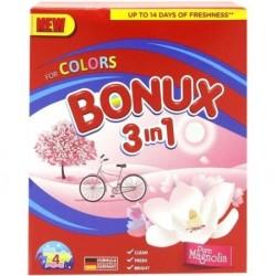 Detergent pudra Bonux 3 in 1 Pure Magnolia 400 grame