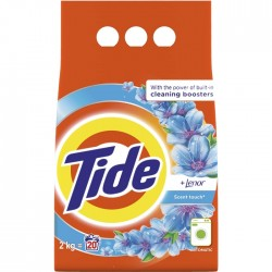 Detergent pudra Tide Lenor Touch 2 kg