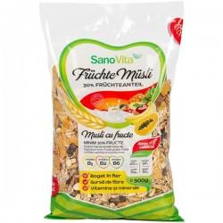 Musli cu fructe SanoVita 500 grame