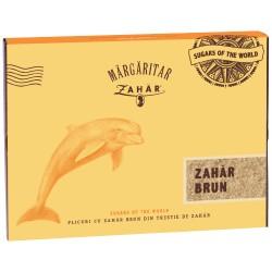 Zahar brun plic Margaritar 200 plicuri