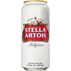 Bere blonda Stella Artois doza 500 ml