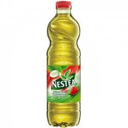 Nestea Ice Green Tea capsuni si aloe vera 1,5 litri