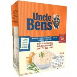 Orez cu bob lung Uncle Ben's 500 grame