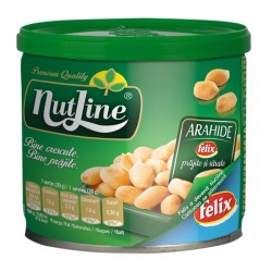 Arahide prajite si sarate Nutline 135 grame
