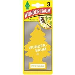 Odorizant auto Wunder Baum Vanillaroma 3 buc