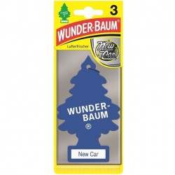 Odorizant auto Wunder Baum New Car 3 buc