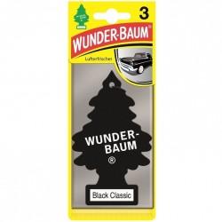 Odorizant auto Wunder Baum Black Classic 3 buc