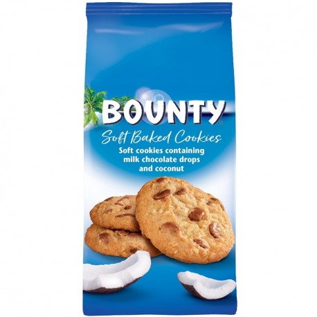 Biscuiti Bounty Soft Baked Cookies 180 grame