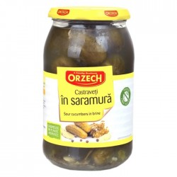 Castraveti in saramura Orzech 670 grame