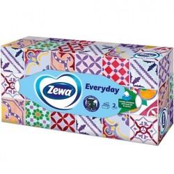 Servetele cutie Zewa Everyday 2 straturi 100 buc