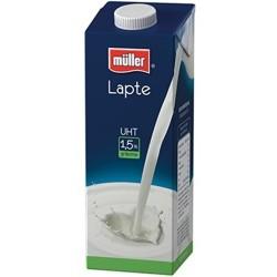 Lapte Muller UHT 1,5% grasime 1 litru