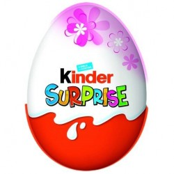 Ou de ciocolata Kinder Surprise pentru fete 20 grame