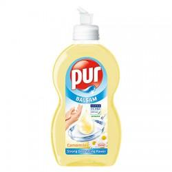 Detergent lichid Pur Balsam Chamomile pentru vase 450 ml