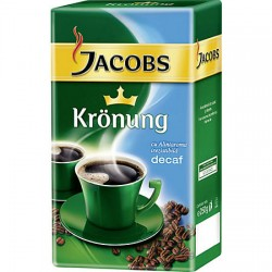 Cafea Jacobs Kronung decofeinizata 250 grame