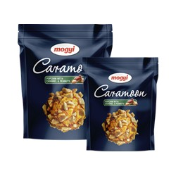 Popcorn cu alune si caramel-Caramoom Mogyi 140 grame