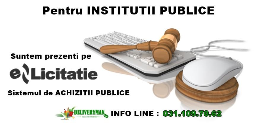 Pentru institutii publice